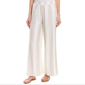 NWT Sage The Label Asher Striped Wide Leg Pant